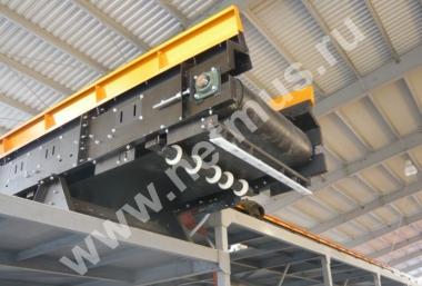 Ленточные конвейеры для макулатуры привод правый транспортер
