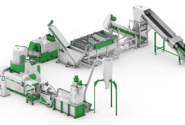 Купить Линия грануляции пленки с производительностью 300 кг в час
