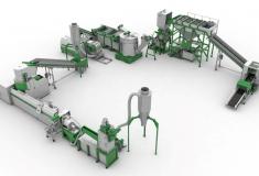 Купить Линия грануляции пленки с производительностью 500 кг в час