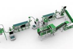 Купить Линия переработки ПЭТ с производительностью 300 кг в час