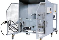 Купить Мойка мусорных контейнеров объемом от 60 до 1100 литров (стационарная, эконом)