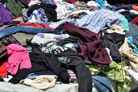 Одежда на свалке