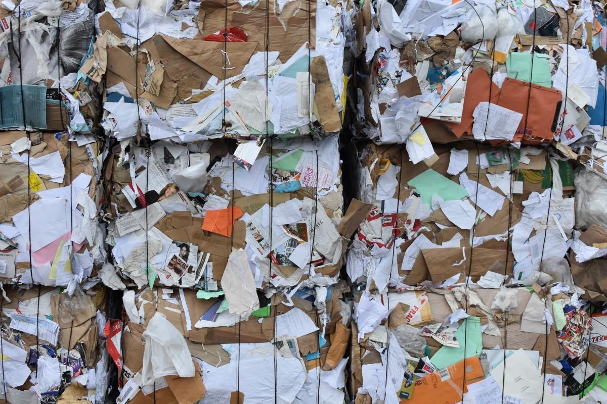 Переработка бумажного мусора