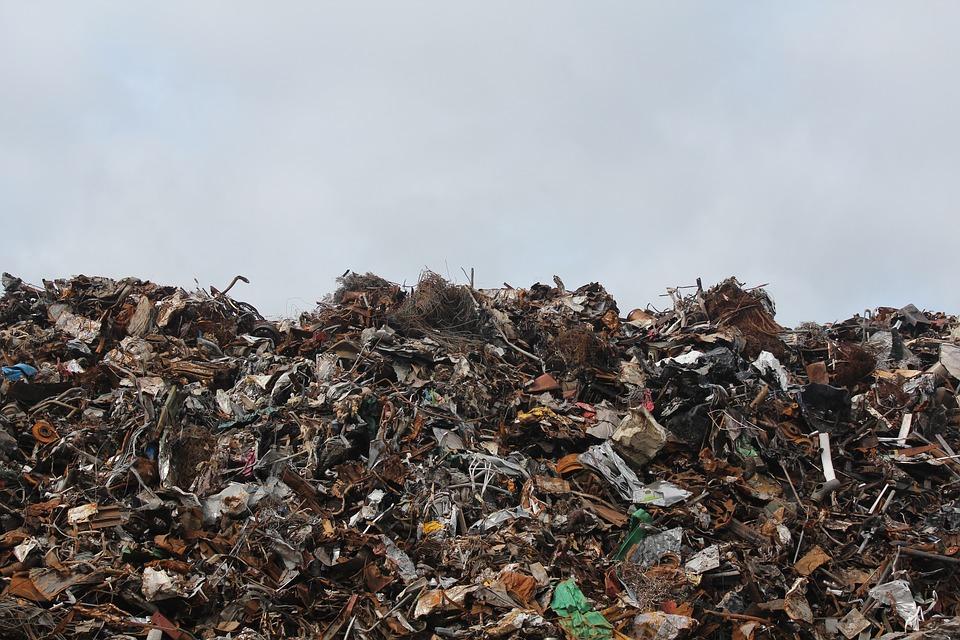 Большое количество отходов