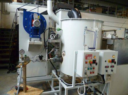 Система очистки газов от продуктов сгорания